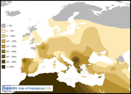 Haplogroup-E1b1b