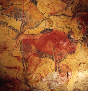 Bisons in Altiira cave
