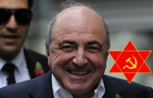 Russian tycoon Boris Berezovsky is pictu